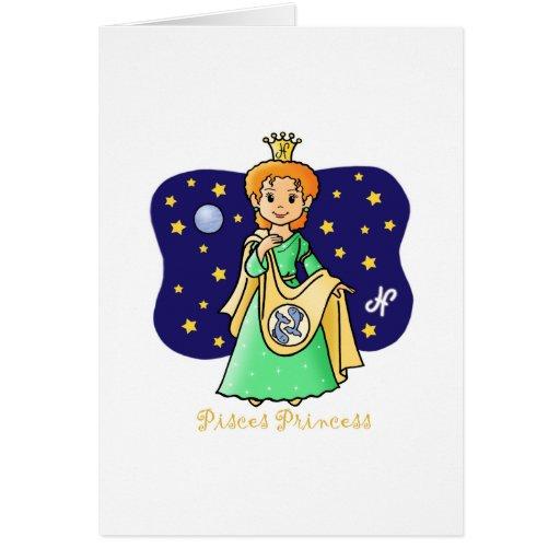 Princesa de Piscis Tarjetas