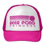 Princesa de Pong de la cerveza Gorras De Camionero