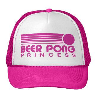Princesa de Pong de la cerveza Gorro De Camionero