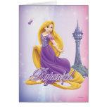 Princesa de Rapunzel Tarjeta