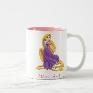 Princesa de Rapunzel Taza De Dos Tonos
