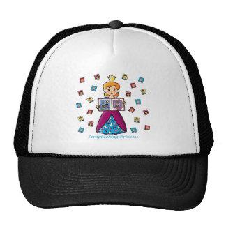 Princesa de Scrapbooking Gorras De Camionero
