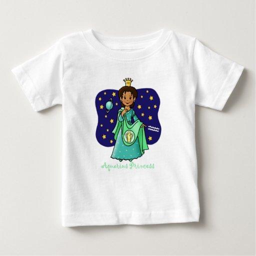 Princesa del acuario camisetas