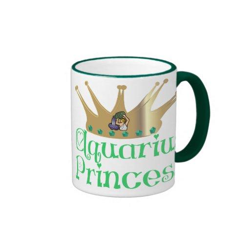 Princesa del acuario taza de café
