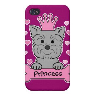 Princesa del Affenpinscher iPhone 4/4S Fundas