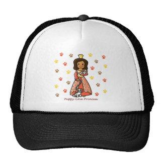 Princesa del amor adolescente gorra