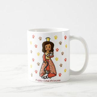 Princesa del amor adolescente tazas