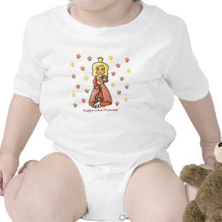 Princesa del amor adolescente traje de bebé