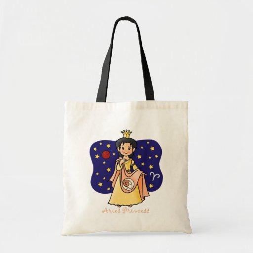 Princesa del aries bolsa tela barata