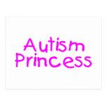Princesa del autismo postal