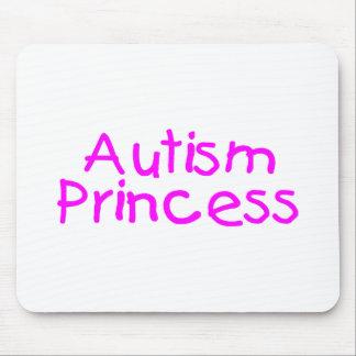 Princesa del autismo (rosa) mouse pad