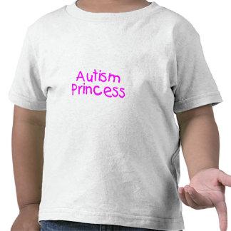 Princesa del autismo (rosa) camisetas