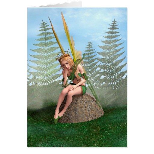 Princesa del bosque, mariposa de hadas