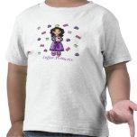 Princesa del café camisetas