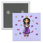 Princesa del café pins