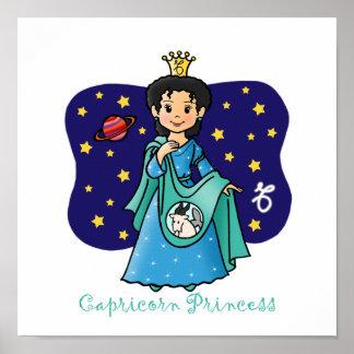 Princesa del Capricornio Posters