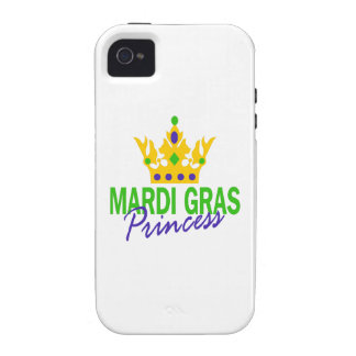 PRINCESA DEL CARNAVAL Case-Mate iPhone 4 FUNDAS