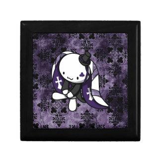 Princesa del conejo del blanco de los clubs cajas de joyas