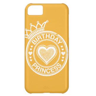 Princesa del cumpleaños - Blanca Carcasa Para iPhone 5C
