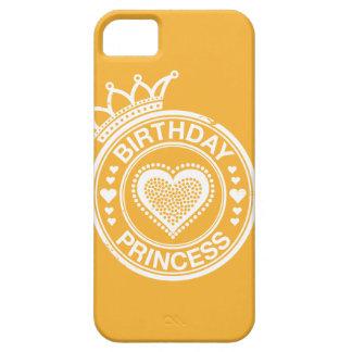 Princesa del cumpleaños - Blanca Funda Para iPhone SE/5/5s