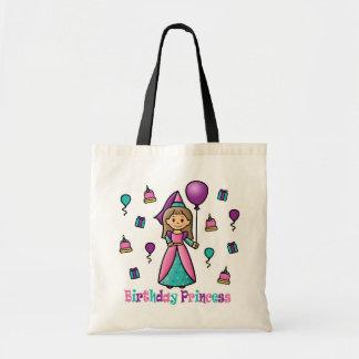 Princesa del cumpleaños bolsa tela barata
