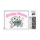 Princesa del cumpleaños franqueo
