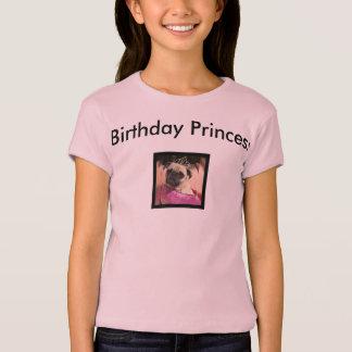 Princesa del cumpleaños playera