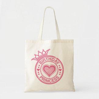 Princesa del cumpleaños - rosa - bolsa