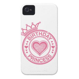 Princesa del cumpleaños - rosa - carcasa para iPhone 4 de Case-Mate