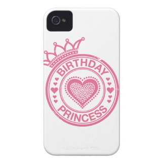 Princesa del cumpleaños - rosa - funda para iPhone 4 de Case-Mate