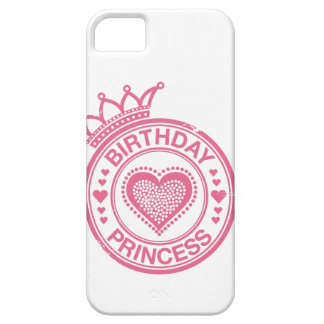 Princesa del cumpleaños - rosa - funda para iPhone SE/5/5s