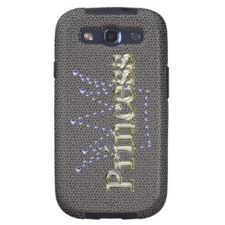 Princesa del diamante y caso de Samsung de la coro Galaxy S3 Cárcasas