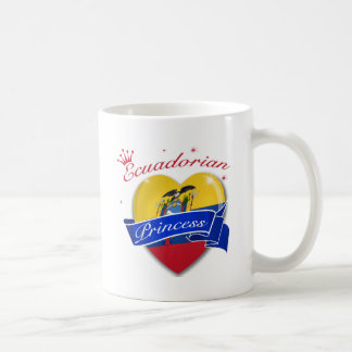 Princesa del Ecuadorian Taza De Café
