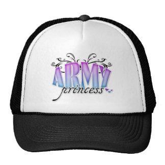 Princesa del ejército gorras