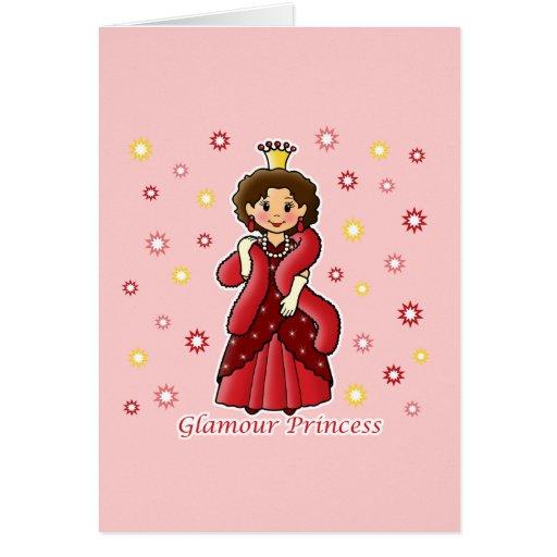 Princesa del encanto tarjetas