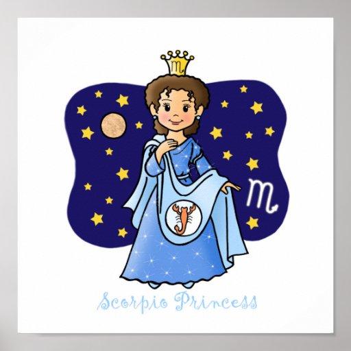 Princesa del escorpión póster