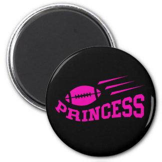 Princesa del fútbol - impresión, chicas o para muj imán