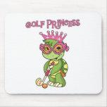 Princesa del golf tapete de raton
