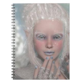 Princesa del hielo libreta espiral