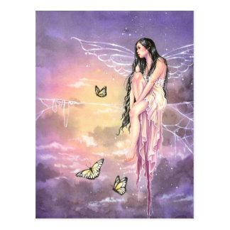Princesa del hilo de araña tarjeta postal