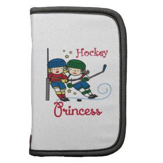Princesa del hockey planificador