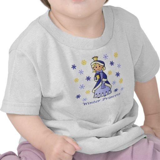 Princesa del invierno camisetas