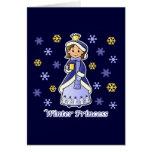 Princesa del invierno felicitacion