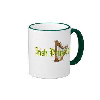 Princesa del irlandés de la taza de café del día