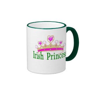 Princesa del irlandés de la taza de café del día d