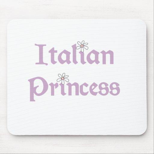 Princesa del italiano de las margaritas tapete de ratones