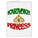 Princesa del Karaoke Felicitacion