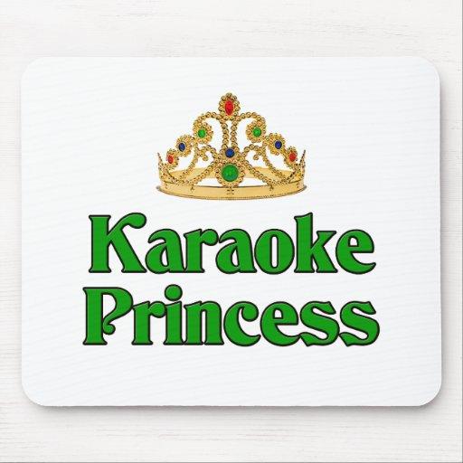 Princesa del Karaoke Tapetes De Raton