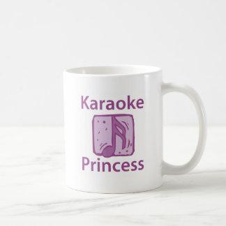 Princesa del Karaoke Taza Básica Blanca
