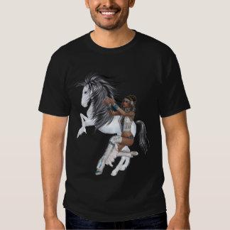 Princesa del nativo americano y camisa del